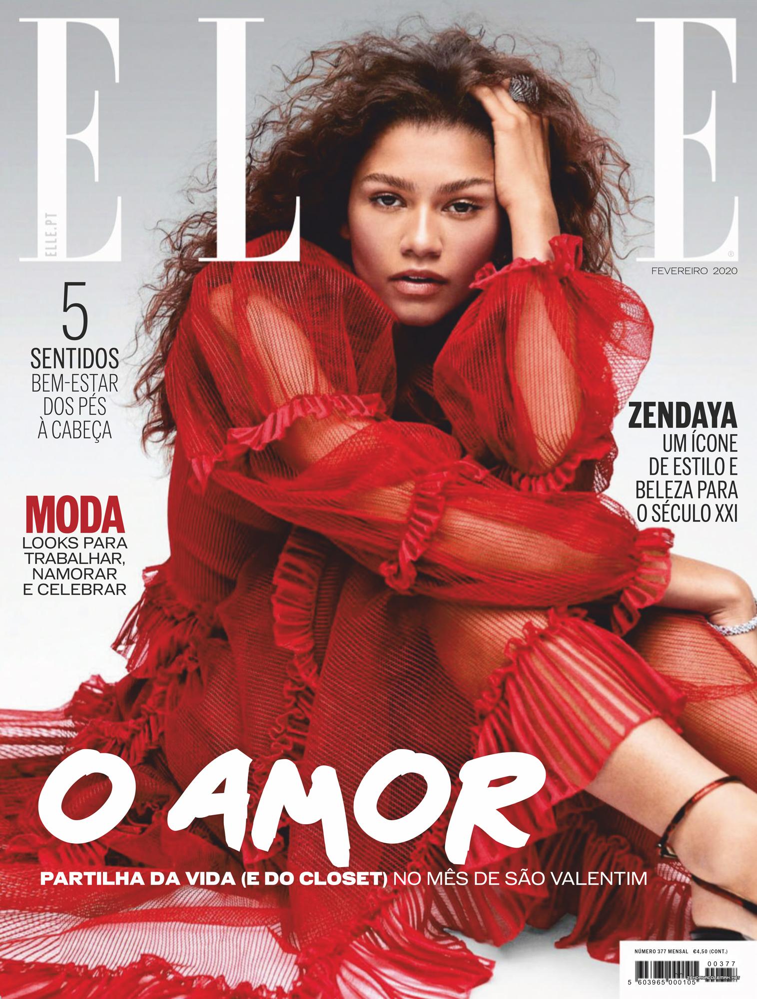 Press/Photos: 'Love' + 'Elle' (Portugal) Magazine Scans + Photo Session