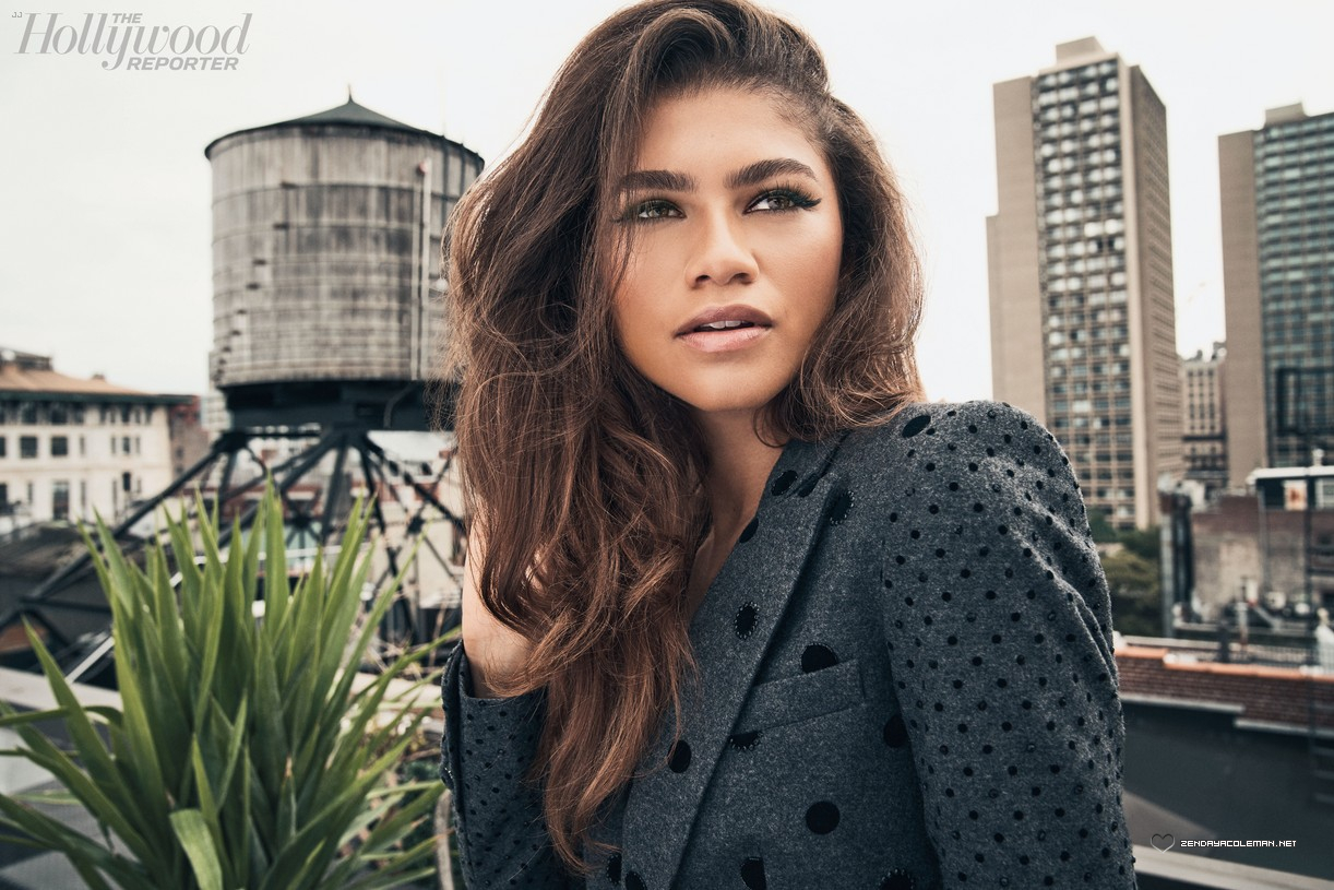 Press/Photos: Zendaya for 'The Hollywood Reporter' Magazine